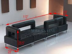 Image result for two sided sofa