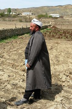 Moslem Mullah in Nohur village, Turkmenistan consider themselves descendents of alexander the great