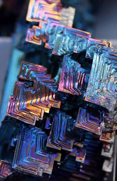 Bismuth05And the beauty of its crystals, of course, indicates why they thought so