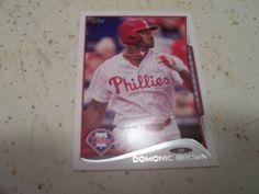 Cole Hamels Domonic Brown 2014 Topps Series 1 Philadelphia Phillies 2 Card Lot | eBay