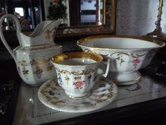 Peças de serviço de chá da Vista Alegre(?) -