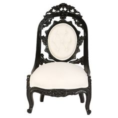 Rococo Revival Arm Chair at Joss & Main