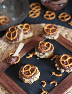 Beer and Pretzel Cookies - a little time consuming, but this looks very interesting.  Maybe for a football party?