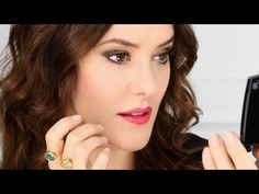 Unexpected Night out? Smokey eyes with only two shades -by LisaEldridge with Lancôme - YouTube