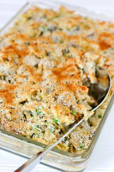 Turkey Tetrazzini | Eclectic Recipes - dinner tonight with leftover turkey!   Very good, would make again.