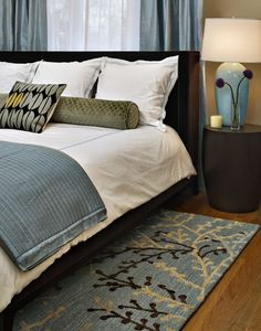 Modern Bedroom Blue And Gray Bedrooms Design, Pictures, Remodel, Decor and Ideas - page 3