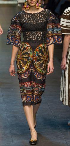 Dolce & Gabbana - s/s 2013