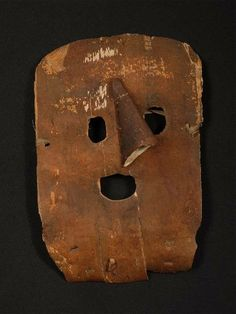 Mask; Russia, Museum of Ethnography, Budapest
