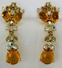 Vintage Schiaparelli Jewelry Earrings