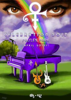 Prince, Celebration 2017 Paisley Park