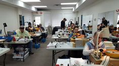 Half way through the International Faceting Academy Basic event, and everyone is getting it!