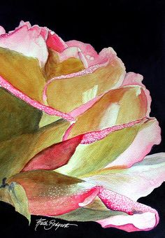 I have to be really impressed by a watercolour to pin it...I'm impressed with this watercolour:))...♥♥♥...Ruth Bodycott Watercolor