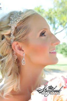 Crystal Bridal Headband   Donita by BridalCoutureGirls on Etsy, $75.00
