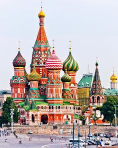 St. Basil's Cathedral, Moscow, Russia, Travel, Tourist Attraction, Sightseeing Spots, Superb Views, Landmark, World Heritage, Architecture