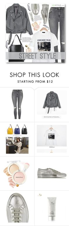 """""""YesStyle Polyvore Group """"Show us your YesStyle"""" (street style)"""" by beebeely-look ❤ liked on Polyvore featuring Topshop, BBORAM, Innisfree, Common Projects, NARS Cosmetics, Spring, contest, yesstyle and wardrobebasics"""