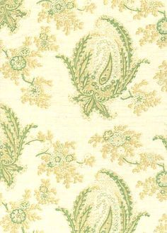 Collection: Quilt Pattern: Paisley Stripe Style No: 1306 Color: Green Content: linen Width: 54 in Repeat: 28 in Tuscan House, Stripes Fashion, Repeat, Quilt Patterns, Paisley, Vintage World Maps, Content, Quilts, Board