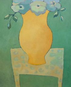 Lita van Engelenhoven.  colors on the table 120 x 100 cm acryl - canvas