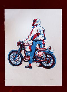 Motorcyclist via Matteo Berton. Click on the image to see more!