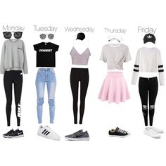 A fashion look from February 2017 by audreyclement featuring T By Alexander Wang, MANGO, Boohoo, NIKE, Lacoste, Converse, adidas, Prada, Ray-Ban, Topshop and Fl...