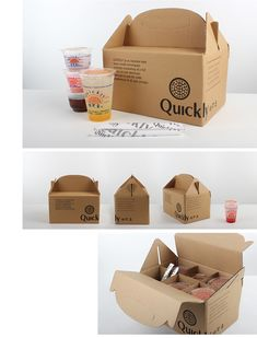 Quickly's take away box by VisualCast Designology Indonesia.