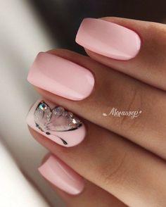 45 types of makeup nails art nailart 27 Nageldesign Hochzeit 45 types of makeup nails art nailart 27 Nageldesign Hochzeit Diy Nails, Cute Nails, Pretty Nails, Nail Nail, Glitter Nails, Elegant Nails, Stylish Nails, Bright Summer Nails, Nagel Hacks