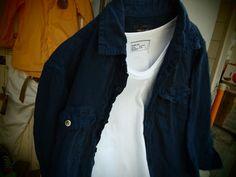 """かくれた名品・・・ Health Knit """"USAコットン 丸胴 白T-shirts"""" + 5/8 (水) 臨時休業 のお知らせ : toulouse no osirase"""