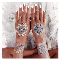 #gypsy #style @ gypsylovinlight @ flashtattoos @ biancamilovjewelry