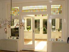 combinatie deur en raam