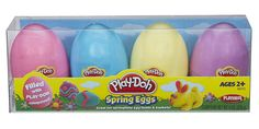 Play-Doh Spring Eggs Easter Eggs 4 pack *** Check out this great image @ Easter Toys, Plastic Easter Eggs, Easter Crafts For Kids, Easter Play, Play Doh Eggs, Play Dough, Hasbro Play Doh, Easter Colors, Toddler Gifts
