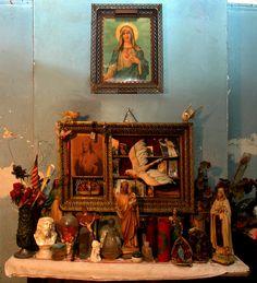 Homemade Religious Shrine by Harold Gee, via Flickr