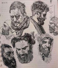 "4,272 Likes, 35 Comments - @sorouushhjahdi05 on Instagram: ""#drawings #skethbook #sketch #portrait #illustration #drawingskills #oilpainting #anatomy #طراحی"""