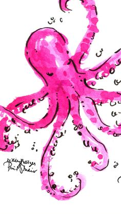 Octopus - Lilly Pulitzer