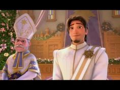 Tangled Ever After (2012) - A Short Film - YouTube HAHAHA It's yhe first time that Rapunzel's mother talks