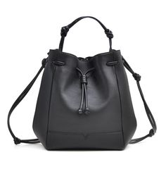 Our favorite von Holzhausen Bucket Bag is versatile and made from sustainable Italian leather. Removable straps allow the bag to be worn as a backpack, shoulder bag, or handheld bag.