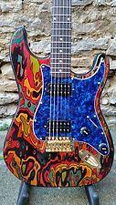 Ike Wilhelm Handmade Strat Style Custom Finish Electric Guitar