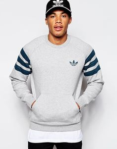 adidas Originals Fitted Sweatshirt AB7518