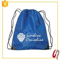 Hot Sales Gold Supplier Fast Delivery polyester drawstring bag / waterproof drawstring bag
