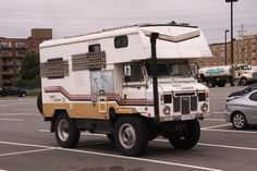 Land Rover Camper now here is a camper