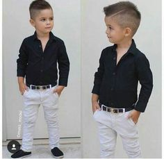 Trendy Ideas For Baby Boy Hairstyles Outfit Toddler Boy Fashion, Little Boy Fashion, Toddler Boy Outfits, Toddler Wedding Outfit Boy, Little Boy Haircuts, Toddler Boy Haircuts, Outfits Niños, Trendy Outfits, Baby Boy Dress