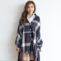 Buy 'BAIMOMO – Convertible Plaid Scarf' with Free International Shipping at YesStyle.com. Browse and shop for thousands of Asian fashion items from Taiwan and more!