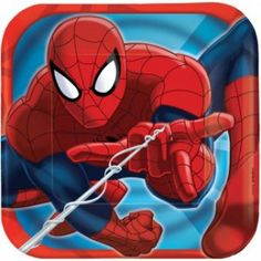 Shop all Spiderman party tableware! Shop for Spiderman party supplies, birthday decorations, and party favors.