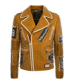 a4a58b7206f 22 Best orange leather jacket images