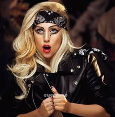 Lady Gaga because she's her original self 24/7 which is hard to do