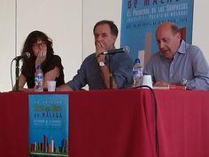 I Ciclo Encuentro con autores en las bibliotecas. Clausura de este primer ciclo con el Encuentro con Antonio Soler. Feria del Libro de Málaga. Mayo de 2014