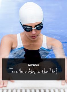 We're kicking off Summer in the water! You can beat the heat and tone your middle in the pool. Here are five exercises that tighten your abs while working your core — all to be done in the water. Watch this video to learn the moves, then dive right Fitness Tips, Fitness Motivation, Health Fitness, Woman Fitness, Fitness Quotes, Lower Ab Workouts, Water Workouts, Pool Exercises, Butt Workouts