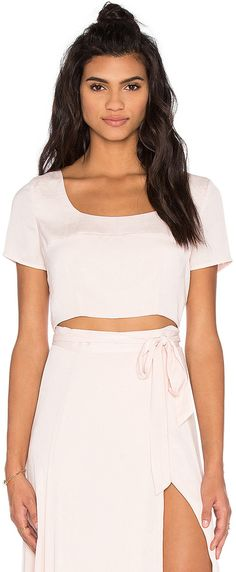508992c8f48b KENDALL + KYLIE Crop Top Pink Crop Top, Pink Tops, Kylie Collection, Kendall