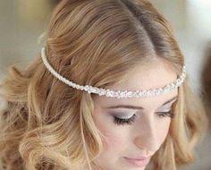 Head Chain Wedding Google Haku Headdress Veils Dresses