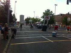 From the streets of downtown #Spokane #SpokaneHoopfest