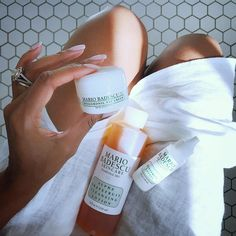 Pamper your skin. (RP @thetennillelife_)