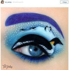 Maquillaje de ojos de fantasía: Fotos de Tal Peleg